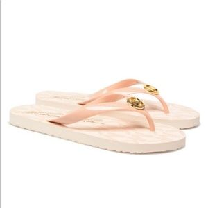 Michael Kors Jet Set Women Flip Flops Sandals 6